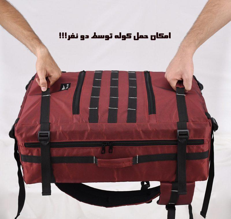 وله پشتی کوهنوردی 40 لیتری فیرو پلاس کد 626