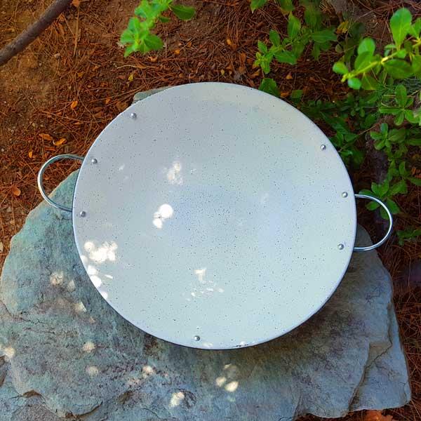 ساج گرانیتی پایه دار 42 سانتیمتری تابه طبیعتگردی